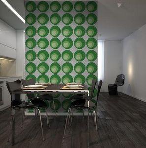 DEMOUR & DEMOUR Mosaïques - spirale m02203 - Mosaic Tile Wall
