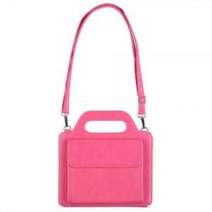La Chaise Longue - etui sac à main ipad rose -