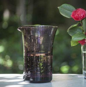 A CASA BIANCA - soller amethyst glass jug - Pitcher