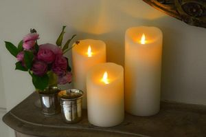 SMART CANDLE FRANCE -  - Round Candle