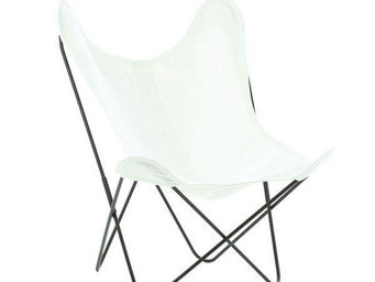 Airborne - coton blanc optique - Armchair