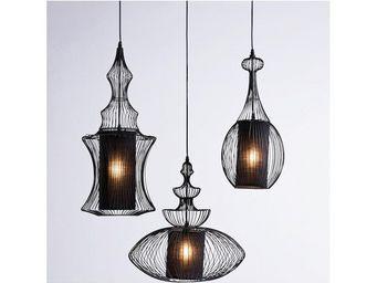 Kare Design - suspension swing iron tre - Hanging Lamp