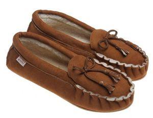 BABBI - winnetou tabacco-femme - Slippers