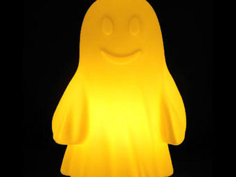 Slide - rudy - lampe fantôme jaune h42cm | lampe à poser s - Table Lamp