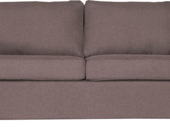 WHITE LABEL - canapé 2 places convertibles coloris gris clair - 2 Seater Sofa