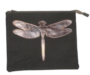 BYROOM - dragonfly leather-- - Ipad Cover