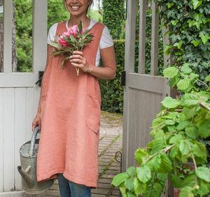 Couleur Chanvre - couleur capucine- li - Gardening Apron