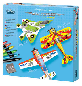Crea Lign' - maquette déco avions - Plane Model