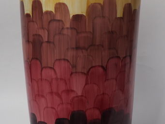 Marie Daage - cercle d'ecailles - Flower Vase
