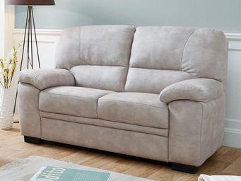 WHITE LABEL - canapé 2p - born - l 159 x l 97 x h 92 - microfibr - 2 Seater Sofa