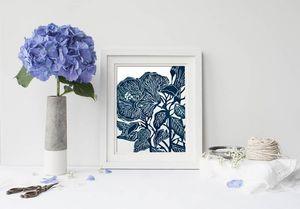 la Magie dans l'Image - print art hibiscus - Decorative Painting