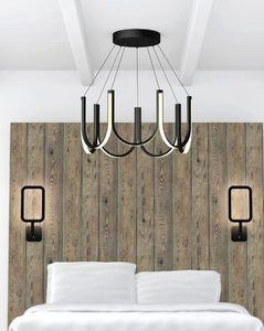 ARPEL LIGHTING - u7 noire - Hanging Lamp