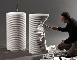 Antonio Lupi - introverso - Pedestal Washbasin