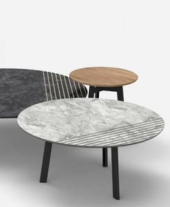 Alain Gilles - groove - Round Coffee Table