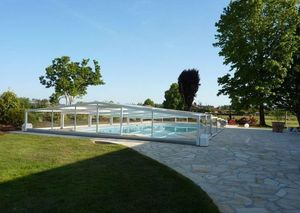 Abri-Integral -  - High Telescopic Pool Cover