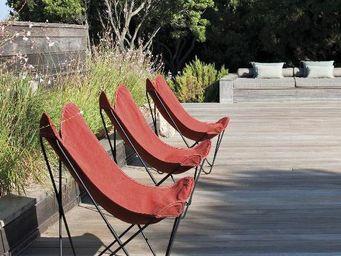 Airborne - coton terracotta-- - Garden Armchair