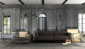 IN CREATION - orangerie abandonnée - Panoramic Wallpaper