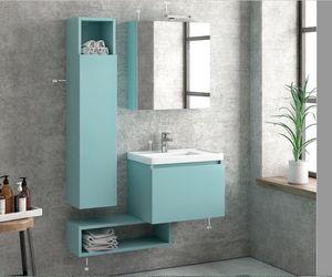 ITAL BAINS DESIGN - space 45 laque - Bathroom Furniture