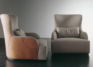 Meridiani - kuio - Armchair And Floor Cushion