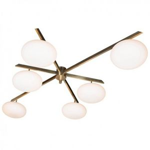 ALAN MIZRAHI LIGHTING - am4711 globe - Chandelier