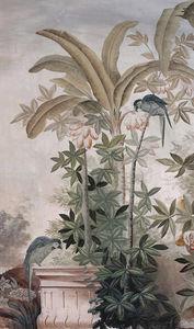 Ananbô - le jardin aux oiseaux couleur - Wallpaper