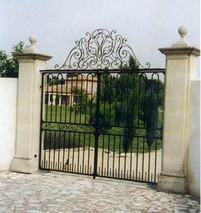 Basset Ferronnerie Freres -  - Entrance Gate
