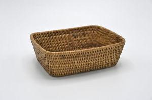 ROTIN ET OSIER - pocket rectangulaire-- - Bread Basket