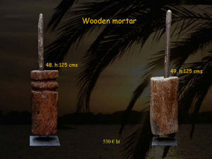 Timor -  - Mortar And Pestle