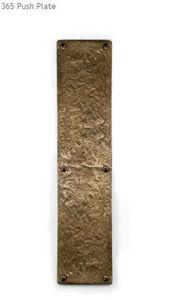 LOUIS FRASER -  - Door Push Plate