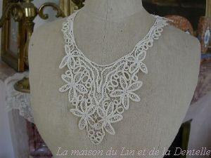 Maison du Lin et de la Dentelle (linge-ancien.com) -  - Lace Collar