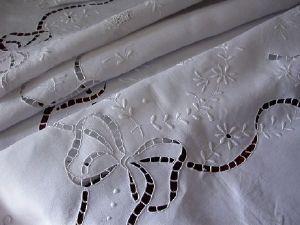 Maison du Lin et de la Dentelle (linge-ancien.com) -  - Square Tablecloth