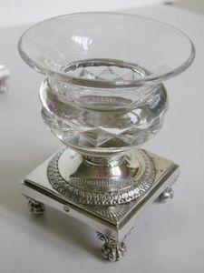 OLIVIER -  - Saltcellar And Pepperpot
