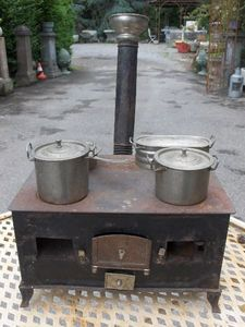 Antiques Forain -  - Stove