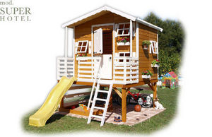 CABANES GREEN HOUSE - super hotel - Children's Garden Play House