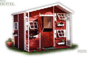 CABANES GREEN HOUSE - hotel - Children's Garden Play House