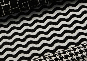 FLUKSO - optika onde - Upholstery Fabric