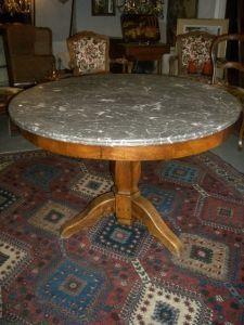 Antiquités Anne & Thierry - guéridon - Pedestal Table