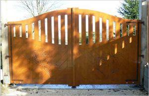 Découp'Bois -  - Casement Gate