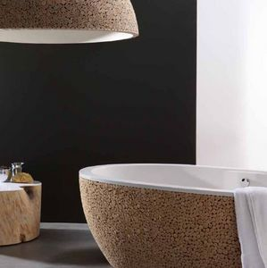 Bleu Nature - stone pixel - Freestanding Bathtub