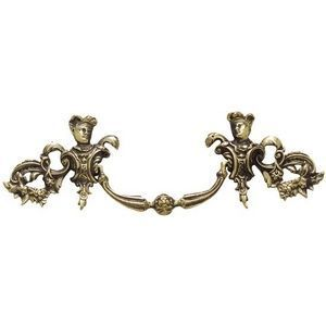 FERRURES ET PATINES - poignee de meuble louis xiv en bronze pour commode - Furniture Handle