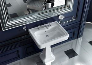 BLEU PROVENCE - 970+915 - Wash Hand Basin