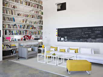 KA INTERNATIONAL - soho + blanco optico - Lounge Chair