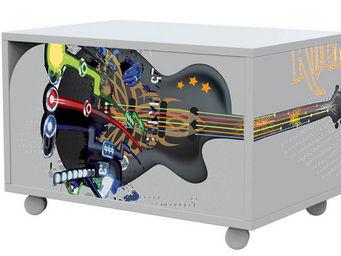 Miliboo - rock chevet - Movable Children's Storage Furniture
