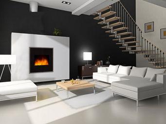 Miliboo - gardena cheminee - Electric Fireplace