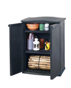 KETER - armoire basse de jardin 250 litres en résine 70x50 - Tool Shed