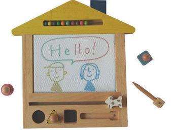 KUKKIA - gg05-oekaki house - Wooden Toy