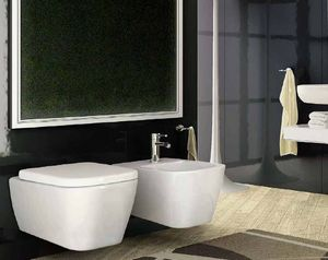 BLEU PROVENCE -  - Wall Mounted Toilet