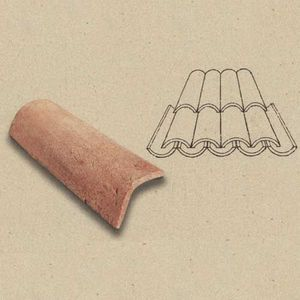POGGI UGO -  - Spanish Roof Tile