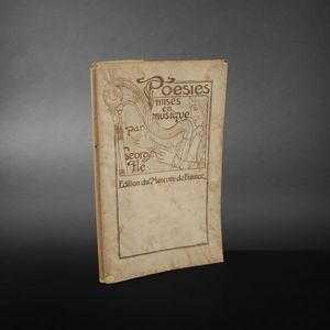 Expertissim - poésies mises en musique par george flé pour chant - Old Book