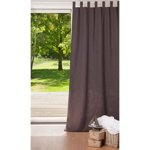 MAISONS DU MONDE - rideau double anthracite - Tab Top Curtain